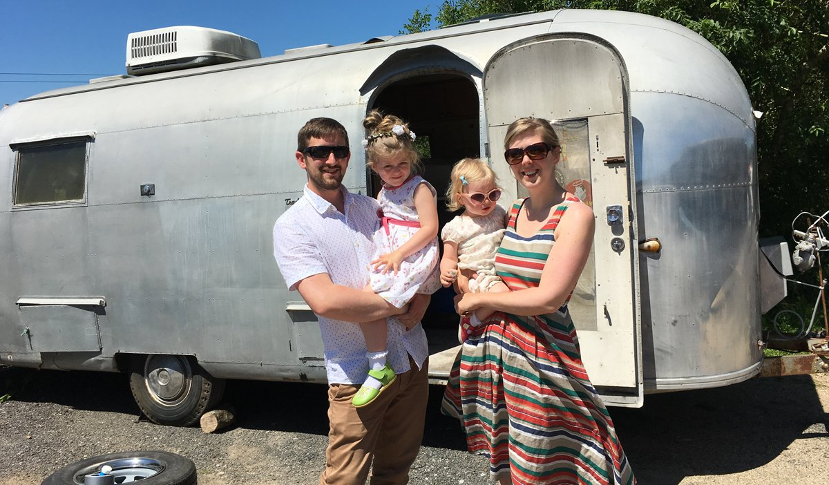 Airstream conversion project the buffalo.